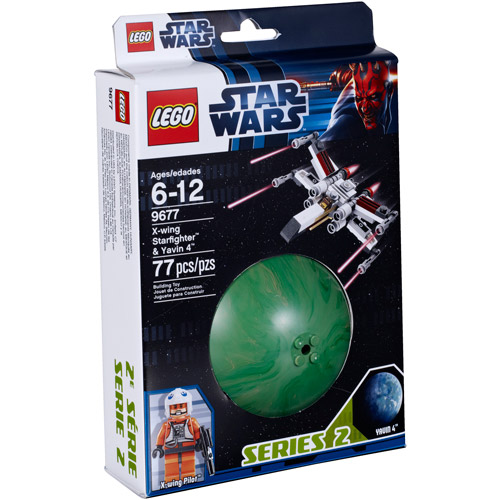 LEGO Star Wars X-Wing Starfighter and Yavin Play Set