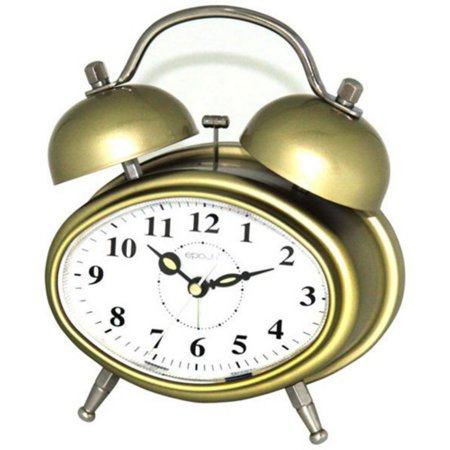 Maples Sales Oval Double-bell Table Alarm Clock
