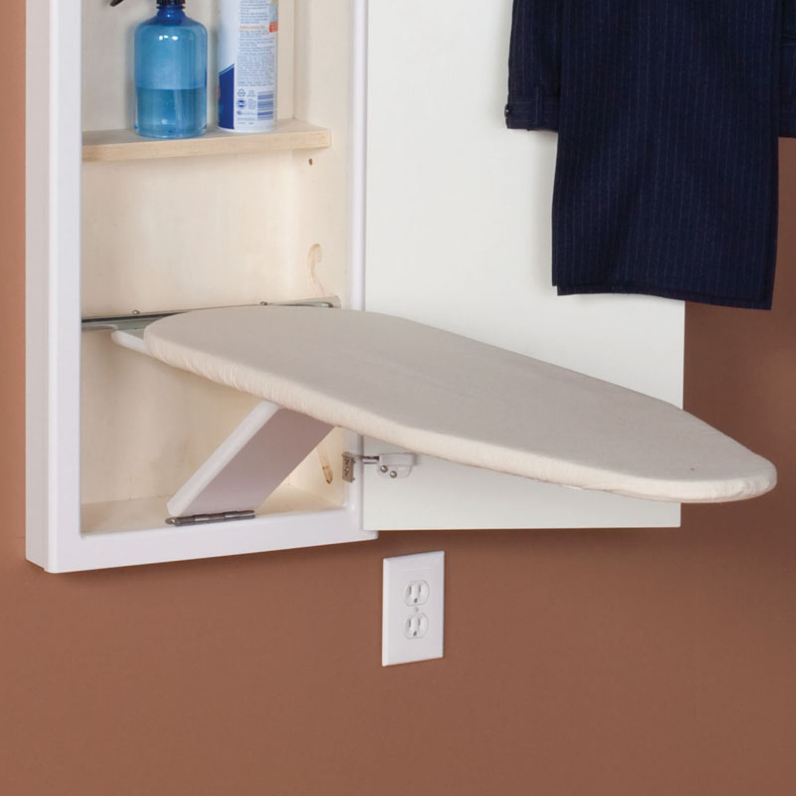 Household Essentials Stowaway Replacement Ironing Board Cover and Pad, Natural
