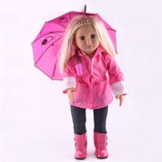 18 Inch Umbrella for American Girl Doll Toy Accessory