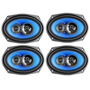 "Best 6x9 Car Speakers For Basses - 4) Q Power 6x9"" 700 Watt 3-Way Car Review"