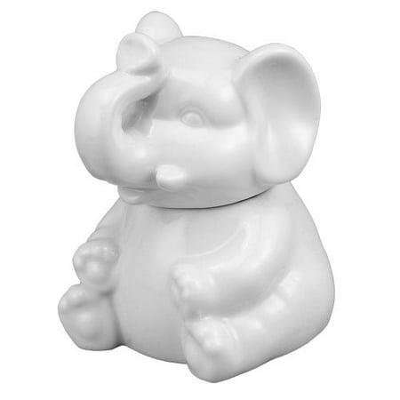 HIC Porcelain Elephant Sugar Bowl 1 ea 0 - Walmart.com