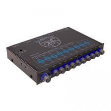 - Soundstream MPQ-90 half DIN Car Audio 9 Band Graphic Equalizer Subwoofer Control