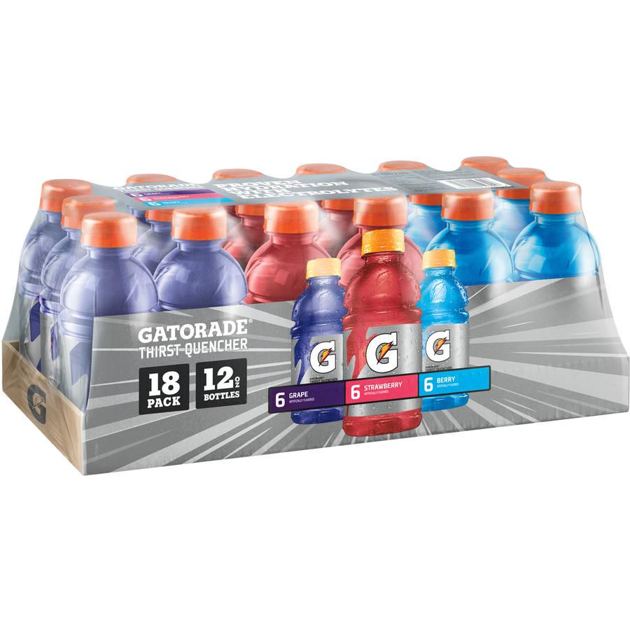 Gatorade Variety Pack 12 oz, 18 pk