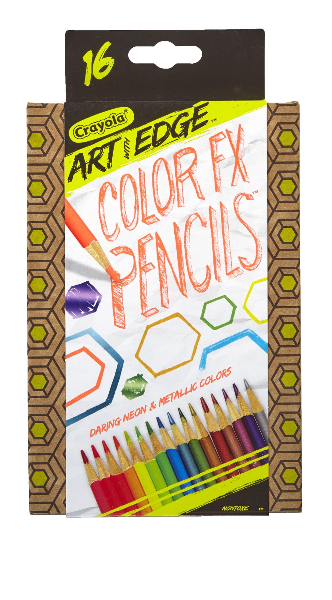 Crayola Art with Edge 16 Count Color Twistable FX Pencils by Crayola LLC