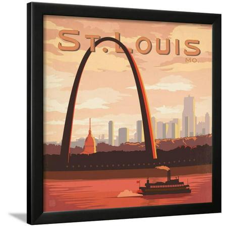 Saint Louis, Missouri Framed Print Wall Art By Anderson Design Group](Party City Saint Louis Missouri)