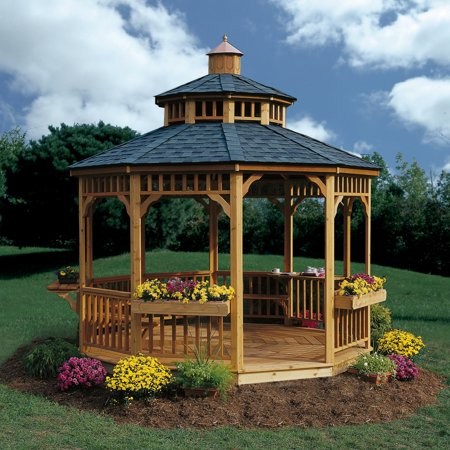 Handy Home San Marino 10 ft. Round Gazebo