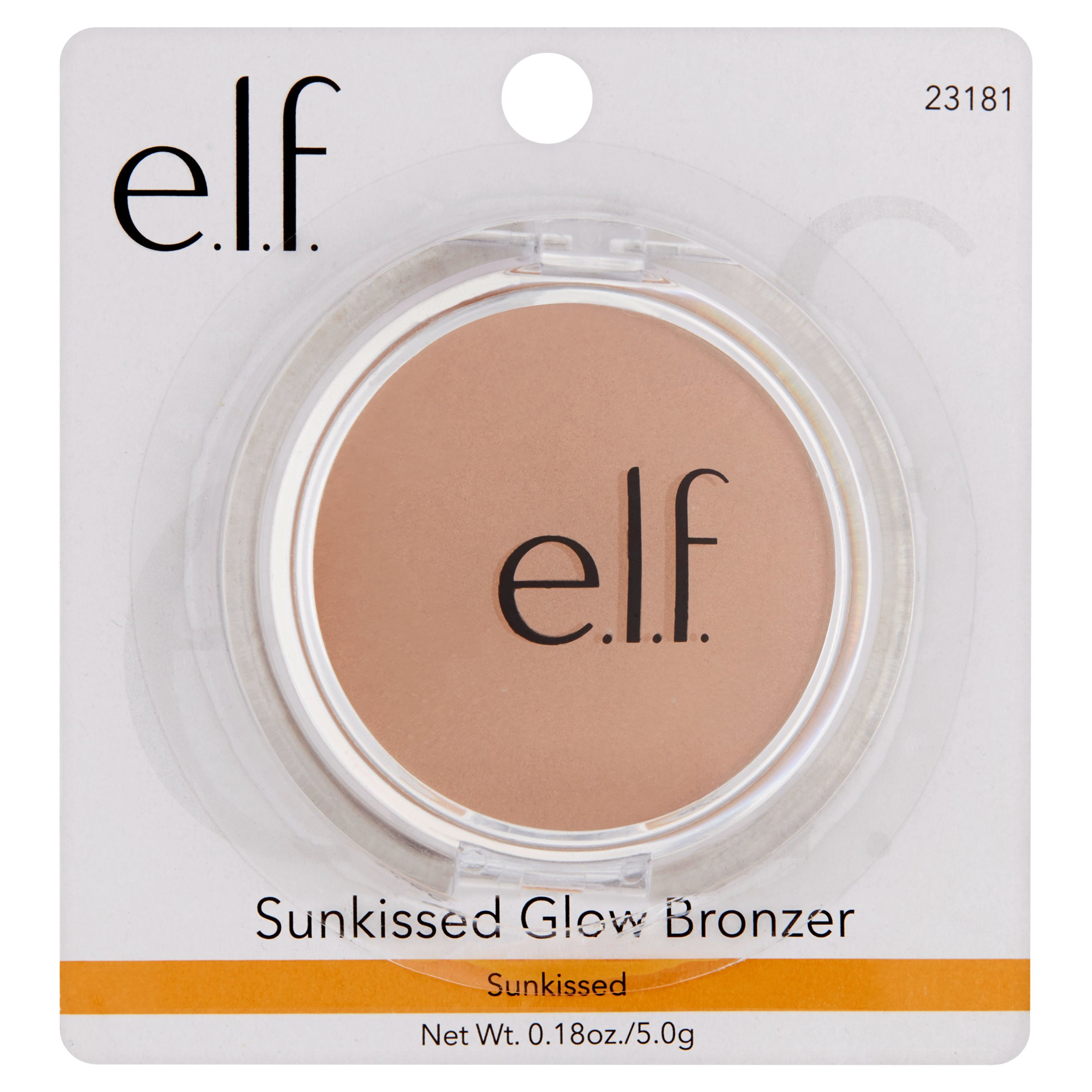 e.l.f. Sunkissed Glow Bronzer, Sun Kissed, 0.18 oz
