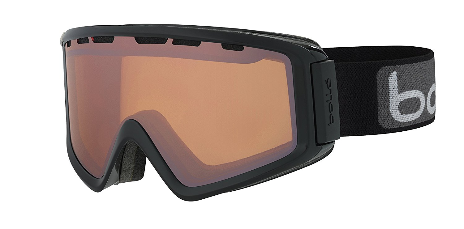 Bolle Winter Z5 OTG Shiny Black Citrus Gun 21604 Ski Goggles Modulator 2.0 M L by Bolle
