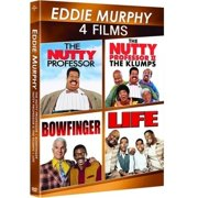 Eddie Murphy: 4-Movie Spotlight Series Bowfinger   Life   The Nutty Professor   Nutty Professor II: The Klumps... by