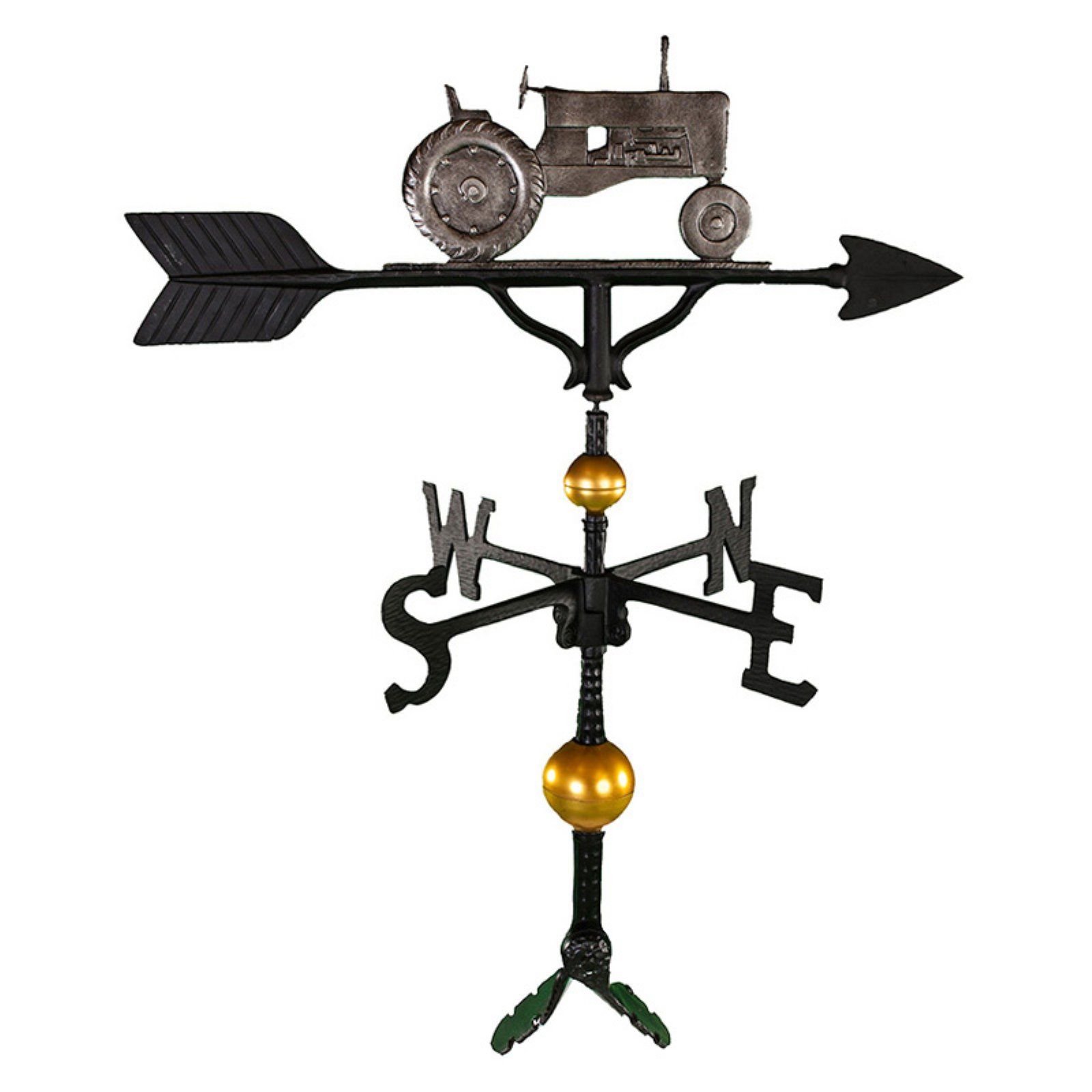 Deluxe Swedish Iron Tractor Weathervane 32 in. by Montague Metal Products