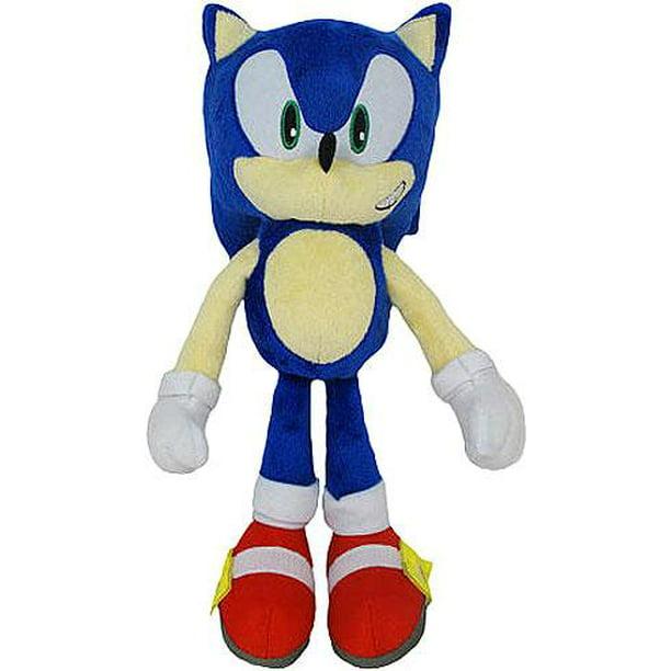 Sonic The Hedgehog 20th Anniversary Sonic 12 Plush Classic Walmart Com Walmart Com