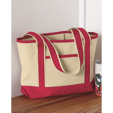 Small Canvas Tote (Q-Tees 20L Small Canvas Deluxe)