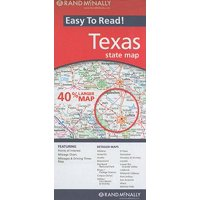 Rand mcnally easy to read! texas state map: 9780528882074