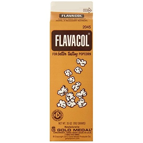 Gold Medal Prod. 2045 Flavacol Seasoning Popcorn Salt 35oz.