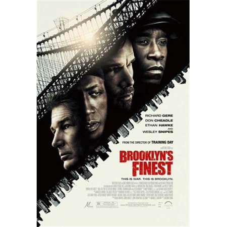 Posterazzi MOV532861 Brooklyns Finest - Style a Movie Poster - 11 x 17 in.