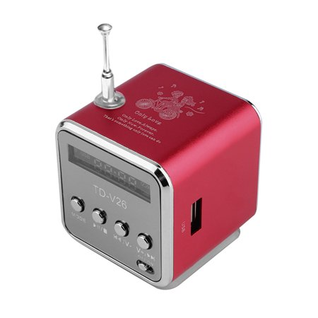 Portable Mini SD TF Card Micro USB Stereo Super Bass Speaker MP3/4 Music Player FM Radio IB