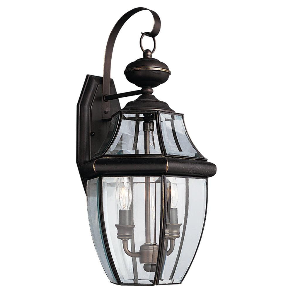 Sea Gull Lighting 8039 Lancaster 2 Light Outdoor Lantern Wall Sconce