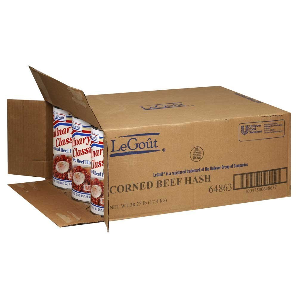 12 PACKS : Corned Beef Hash, no.5 Can -- 12 Case