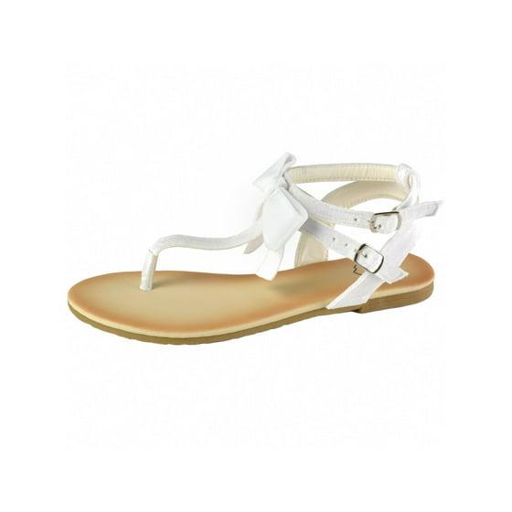 9266721ce alpine swiss - Alpine Swiss Womens Velvet Bow Sandals T-Strap Thong ...