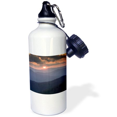 3dRose Great Smoky Mountains National Park, Tenessee - US43 RKL0007 - Raymond Klass, Sports Water Bottle,