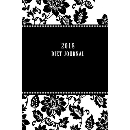 2018 diet journal food and exercise tracker 6 x 9 inches and 120