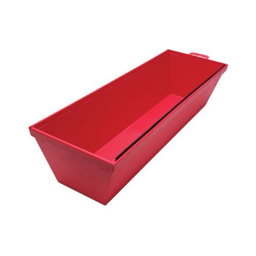 Marshalltown Trowel 16114 Mud Pan, Red Plastic, 12-In.