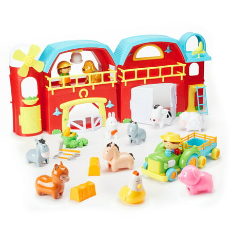 Kid Connection Farm House Playset