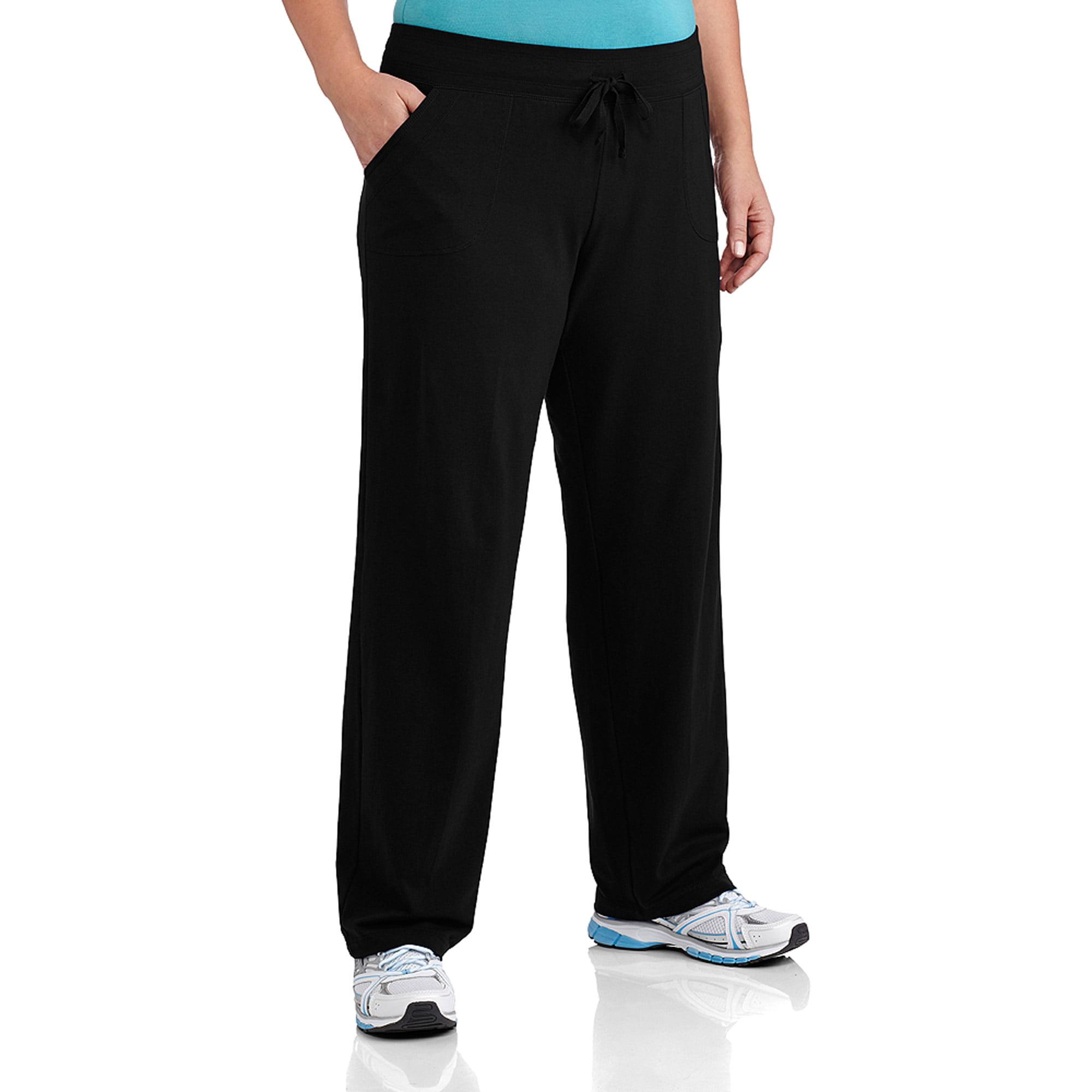 Danskin Now Women's Plus-Size Basic Knit Pants