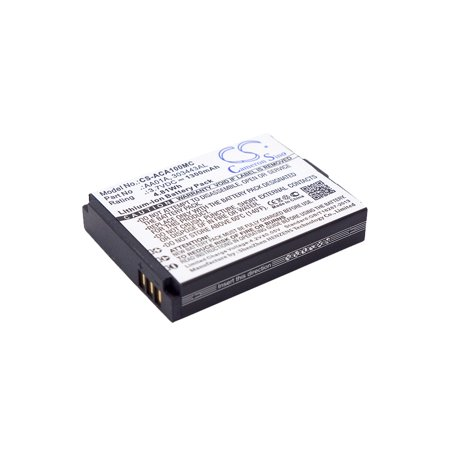 Cameron Sino 1300Mah Battery For Activeon Lx  Dx  Lka10w B  Dka10w B