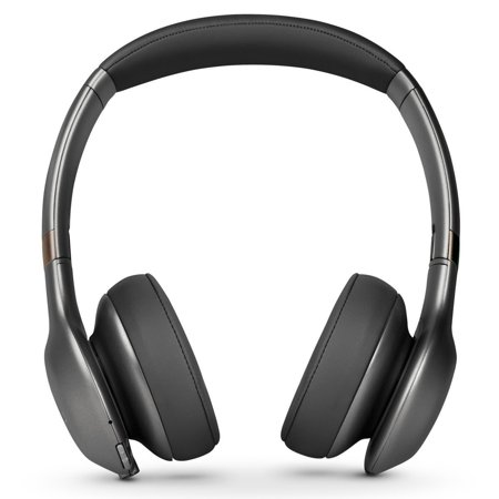 JBL Everest 310 Wireless On-Ear Headphones with Built-In Mic (Gunmetal) (Jbl Wireless Microphone)