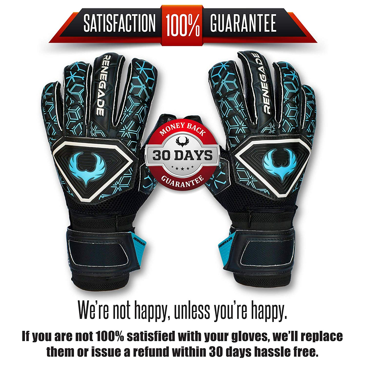 Renegade GK Triton Goalie Gloves with Removable Pro-Tek Fingersaves (Extra  Durable) - Sizes 5-11 ec7177f528