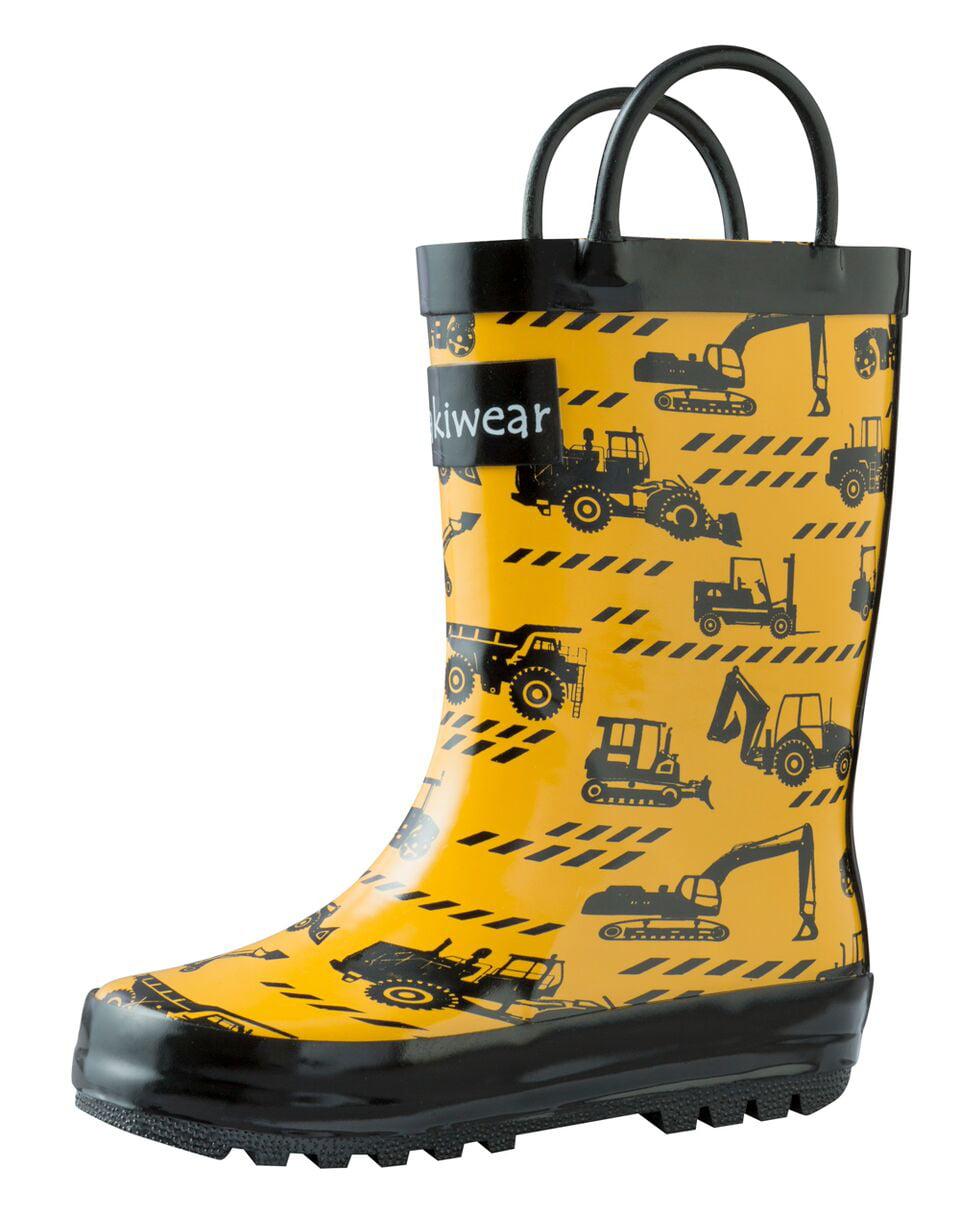 Oakiwear Kids Rain Boots For Boys Girls