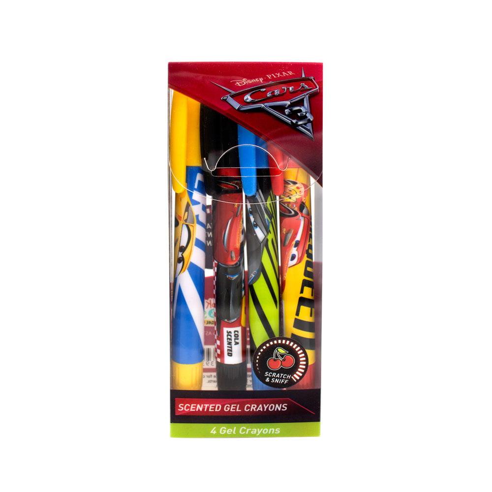 Disney Pixar Cars 3 Scented Gel Crayons 4-Pack