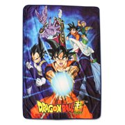 Dragon Ball Super Sublimated Throw Blanket, Group 6