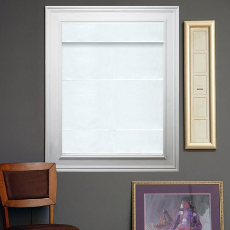 Thermal Snow - Chicology Cord-Free Magnetic Roman Shade