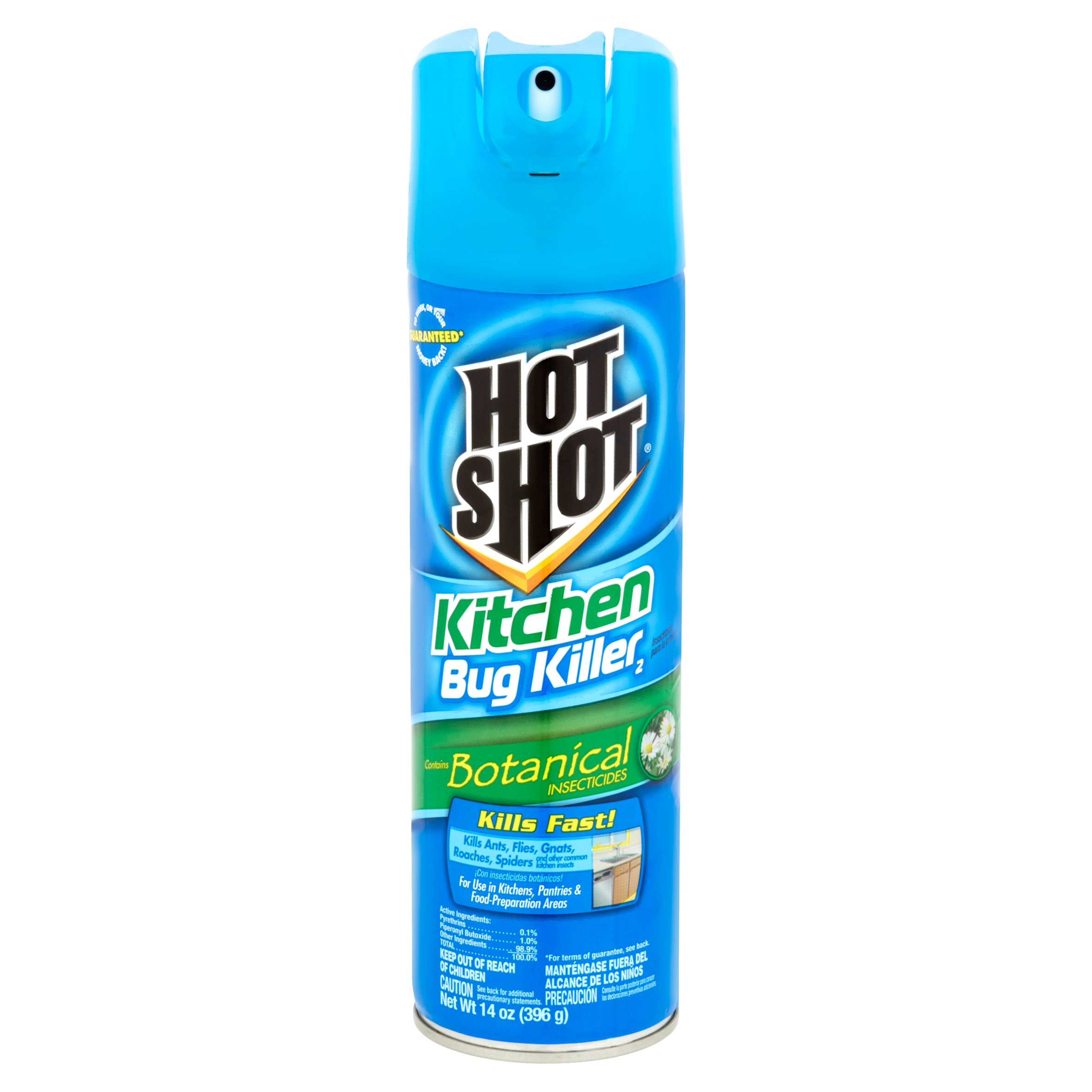 hot shot kitchen bug killer 2, 14 oz - walmart