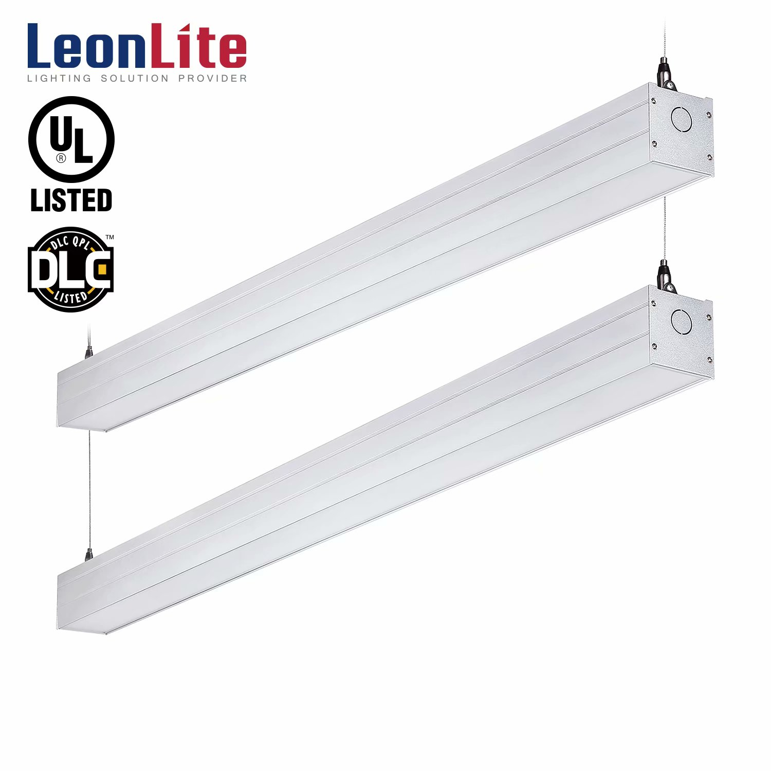 LEONLITE 2 Pack 4ft 40W LED Shop Lights, LED Shop Lights