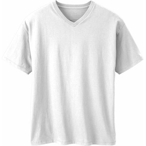 Hanes - Men's V-Neck Tee Shirt