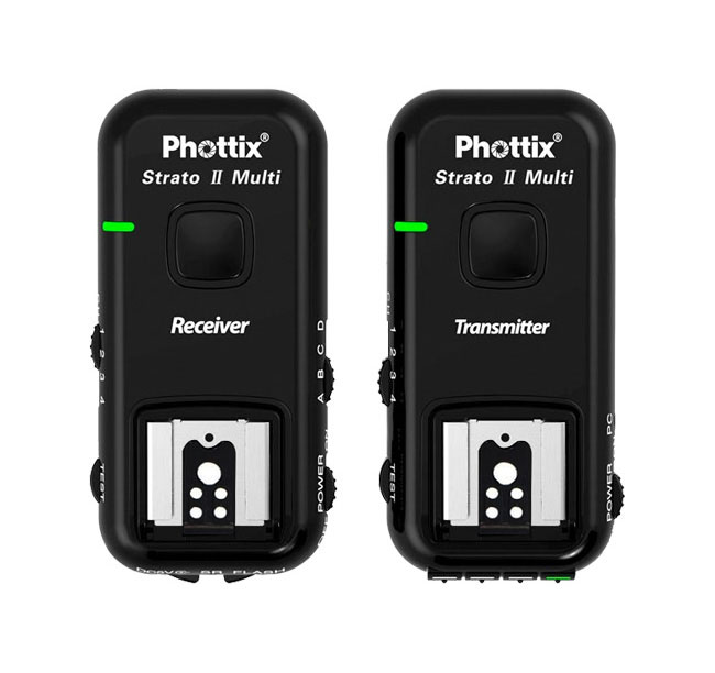 Phottix Strato II Canon Multi 5-in-1 Wireless Flash Trigger Set