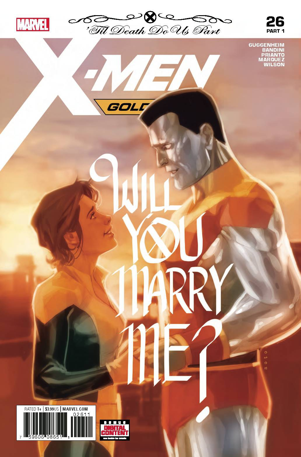 Marvel X-Men Gold #26 by