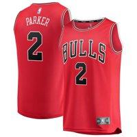 2c0deb719 Product Image Jabari Parker Chicago Bulls Fanatics Branded Fast Break  Replica Jersey - Icon Edition - Red