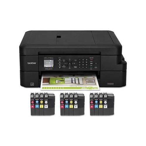 MFCJ775DWXL All-In-One Inkjet Printer, Copy/Fax/Print/Scan