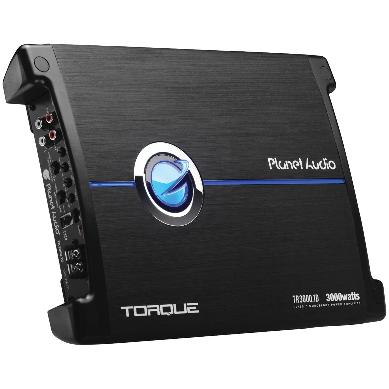 Planet Audio TR3000.1d Torque Series Monoblock Class D Amp (3,000 Watts)