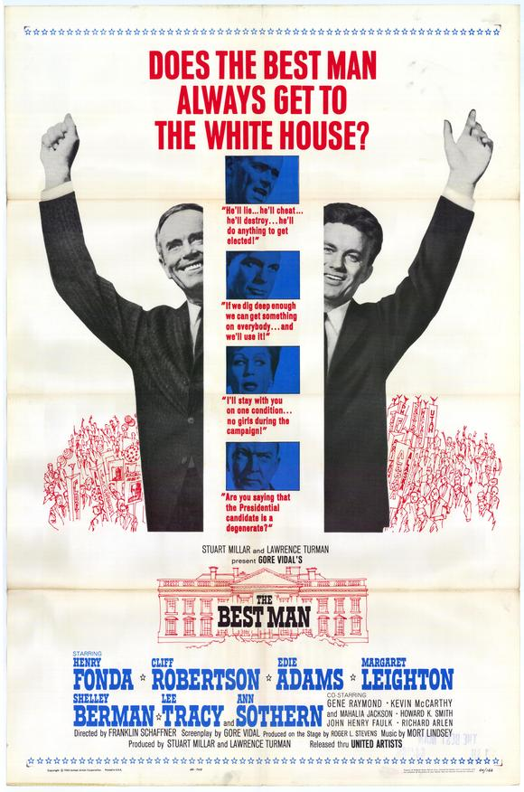 """The Best Man - movie POSTER (Style A) (11"""" x 17"""") (1964) - Walmart.com"""