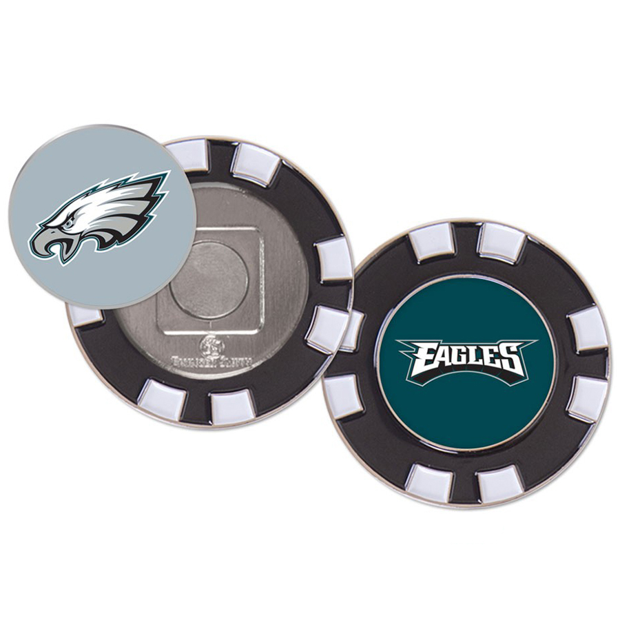 Philadelphia Eagles WinCraft Golf Poker Chip - No Size