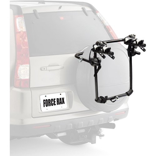 Cycle Force Rax Deluxe 2-Bike Spare Tire Car Rack