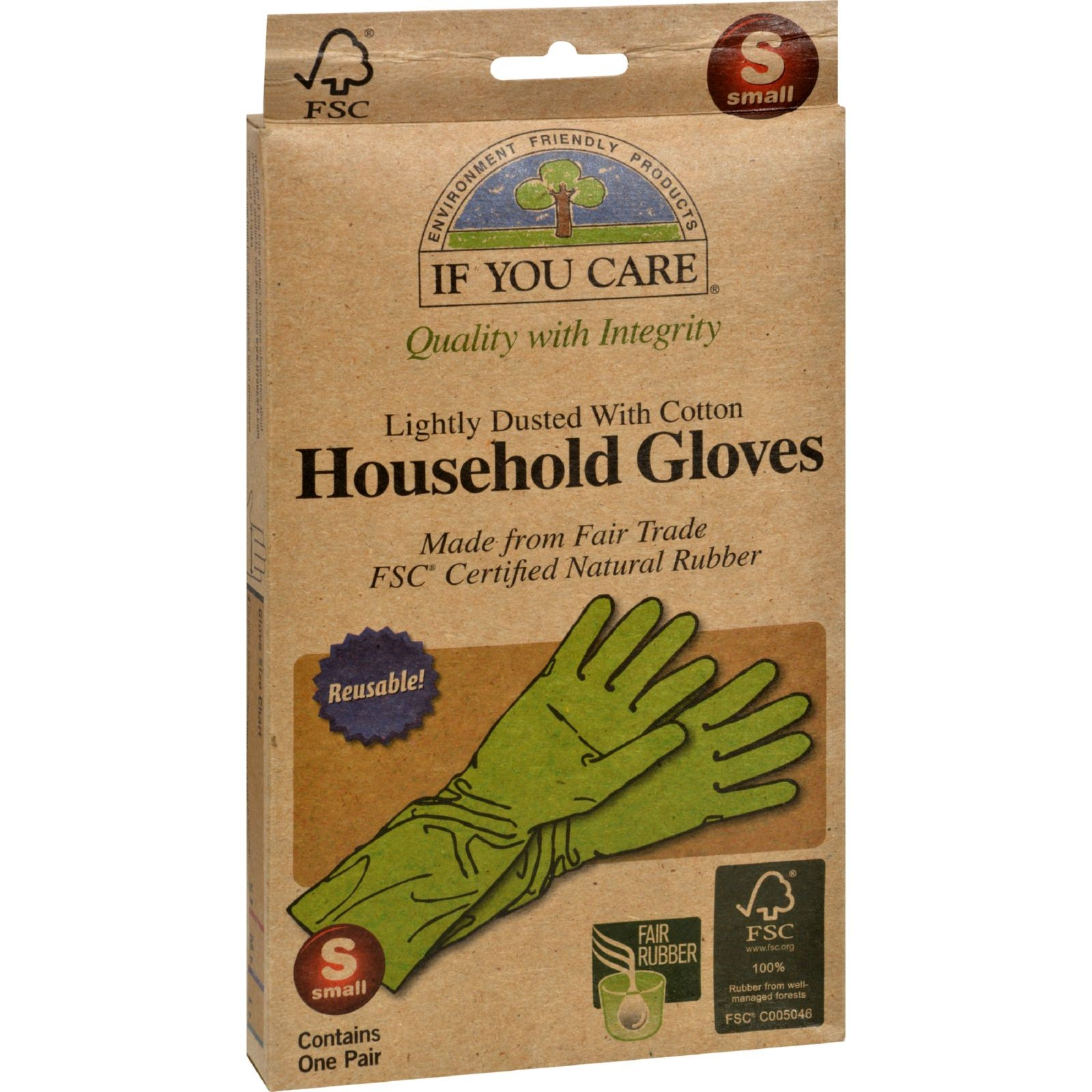 If You Care Household Gloves, Small