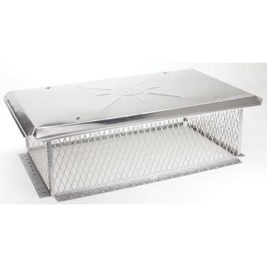 Gelco 5 8 inch mesh Chimney Cap 8H x 17W x27L