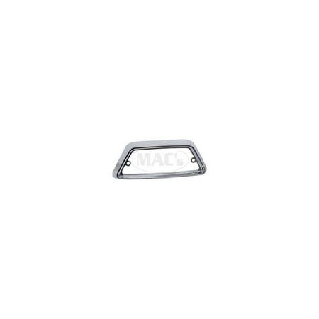 MACs Auto Parts  41-44442 - Dome Light Bezel - Chrome - Ranchero, Falcon, Comet